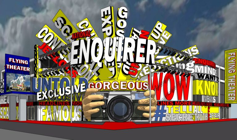 National Enquirer Live opens this spring