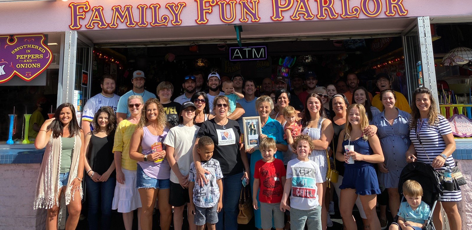Fannie Farkle's celebrates 40 years with special visit