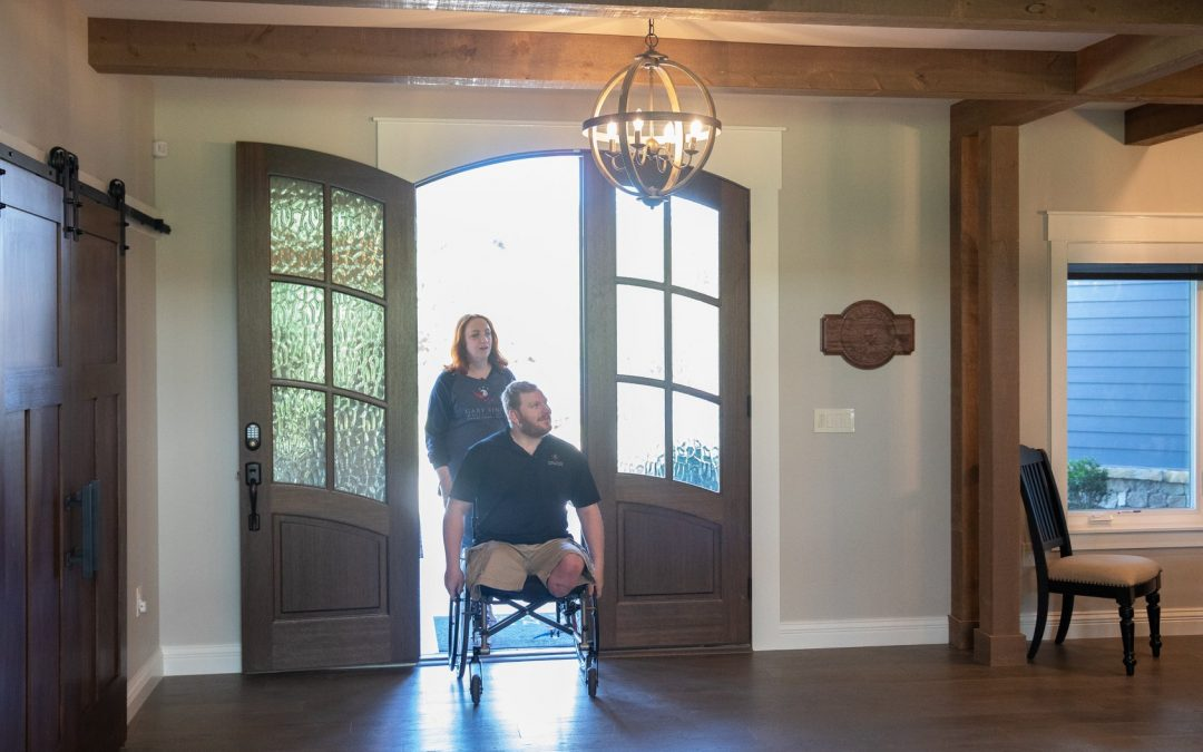 Gary Sinise Foundation provides home in Sevierville