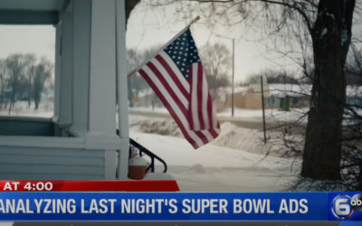 Rick Laney, President & CEO of Rick Laney Marketing, discusses the advertising winners of this year's Super Bowl with WATE (ABC) News